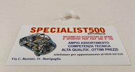STAFFA FISSAGGIO CAVO COMANDO AVVIAMENTO MOTORE FIAT 500 R - 126