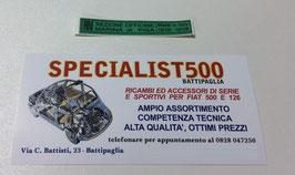 ADESIVO MARTINETTO DI SOLLEVAMENTO PER 500 F L R
