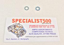 COPPIA RONDELLE GUARNIZIONI COPERCHIO PUNTERIE 500 - 126 - BIANCHINA