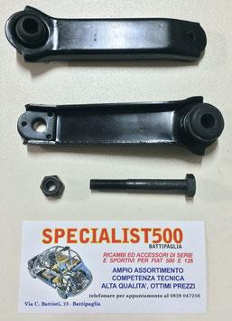 COPPIA BRACCI OSCILLANTI ANTERIORI PER 500 R - 126 - BOCCOLA DIAMETRO 14 mm