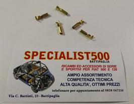 5 TERMINALI CABLAGGIO ELETTRICO - TIPO 1 - FIAT 500 N D F 1°SERIE