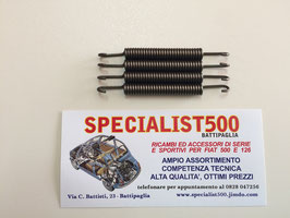 KIT MOLLE INTERNE AL TAMBURO PER RICHIAMO CEPPI FRENO 500 - 126 (595 cc)