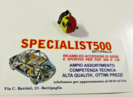 FIAT  500 - 126 FREGIO SMALTATO ABARTH PICCOLO - ORIGINALE RAGNI