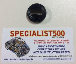 ROSETTA SOTTOMANIGLIA APRIPORTA IN PLASTICA NERA 500 L - R - 126