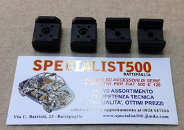SERIE 4 PZ. TASSELLI BATTISEDILE QUALITA' ORIGINALE (CON ANIMA METALLICA)  500 - 126 - 600 - 850 - BIANCHINA