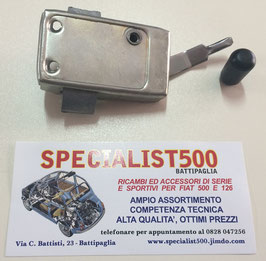 SERRATURA INTERNA LATO PASSEGGERO 500 N - 500 D - 500 GIARDINETTA