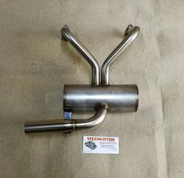 SCARICO SPORT INOX MODELLO Y -  500 R - 126