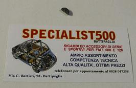 CHIAVETTA PER FISSAGGIO ROTORE ALTERNATORE FIAT 500 / 126