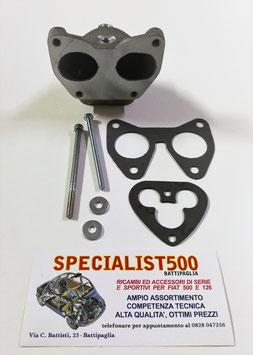 COLLETTORE TESTA 500 - 126 CARBURATORE FULVIA - 1100 R - CAMPAGNOLA - SOLEX PHH / PHHE 32 / 35 - WEBER DCOE 32 - DELLORTO DHLB 32 / 35