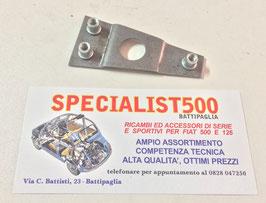 PIASTRA FISSAGGIO SCONTRO SERRATURA PORTA FIAT 500 F L R