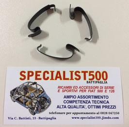 KIT MOLLETTE IN FERRO SCATOLA - COPERCHIO FILTRO ARIA 500 - 126