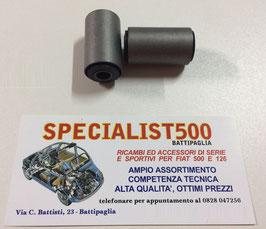 COPPIA SILENT BLOK PER TESTA FUSELLI 500 TT- 126 TT