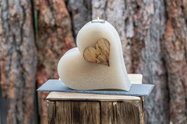 Hochzeitskerze - Herz