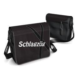 Deckel S - Schlagzüg schwarz/weiss