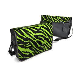 Deckeli M - Zebra grün