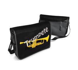 Deckel M - Trumpete gelb/grau