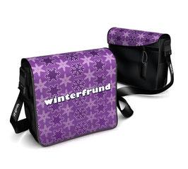 Deckeli S - Winterfründ violett