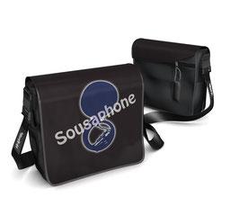 Deckel S - Sousaphone grau/blau