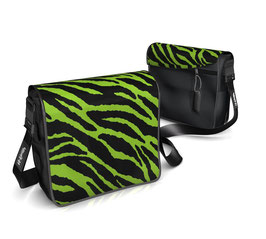 Deckeli S - Zebra grün