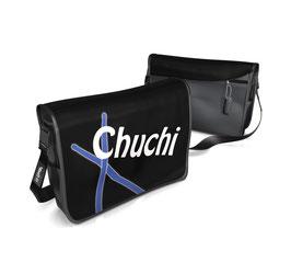 Deckel M - Chuchi blau/weiss