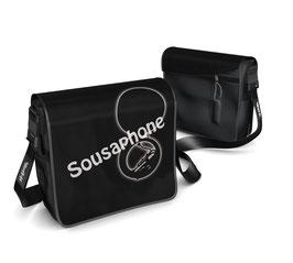 Deckel S - Sousaphone schwarz/weiss
