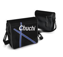 Deckel S - Chuchi blau/weiss