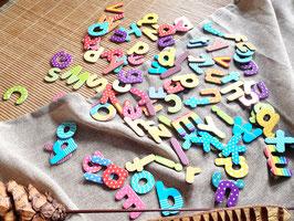 Magnet-Buchstaben in Box, 100tlg.