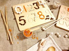 Tracing Board Set - Buchstaben, Zahlen und Formen