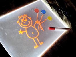 LED Leuchtplatte A4