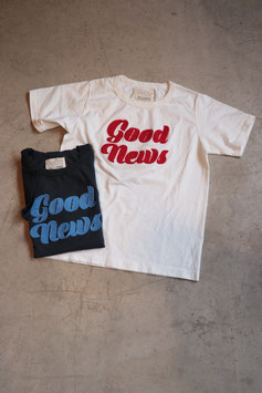FULLCOUNTフルカウント SAGARA EMBROIDERY TEE ''GOOD NEWS'' 5968
