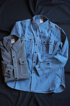 THE SUPERIOR LABOR/シュペリオールレイバー SL106 work shirts