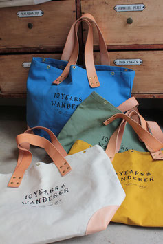 "THE SUPERIOR LABOR/シュペリオールレイバー market bag ""10 YEARS A WANDERER SL018"