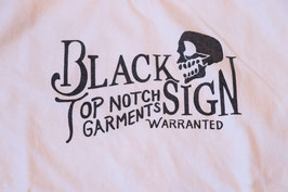 BLACK SIGN/ブラックサイン BS Skull Head V-neck Underwear bssn-19306