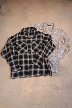 FULLCOUNT/フルカウント Rayon Ombre Check Shirts 4995