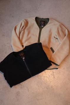 FULL COUNT/フルカウント Zip Front Fleece Liner Long Sleeve 2917