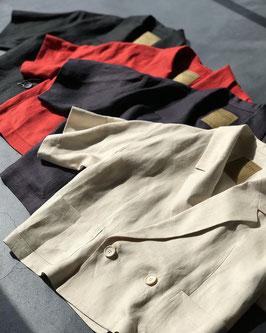 Robes&Confections/ フレンチリネンダブルジャケット
