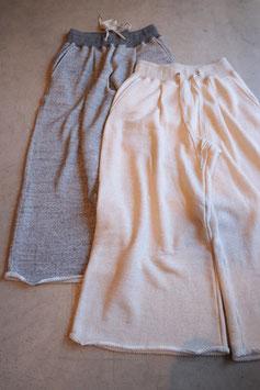 Robes&Confections/ リブスウェットパンツ Large loop sweat rib pants