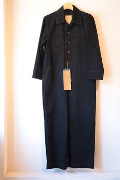 Robes&Confections / Dobby Bias Corduroy Piping Combinaison RCZ-D01-002F コーデュロイオールインワン