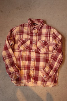"FULL COUNT/フルカウント ORIGINAL CHECK NEL SHIRTS ""WALSH"" 4003"