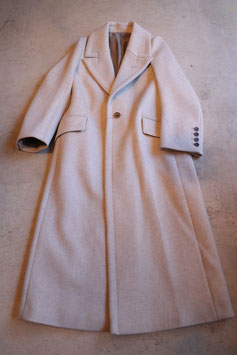 Robes&Confections/Super100's Double Cloth Wool Beaver Tailored Maxi Coat  マキシコート