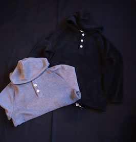 Re made in tokyo japan / Boa Fleece Hooded Pull Over 1718A-BL