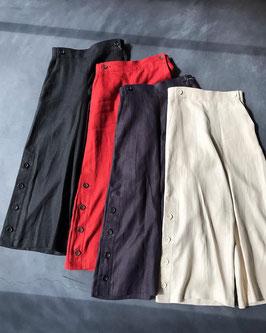Robes&Confections/ フレンチリネンボタンワイドパンツ