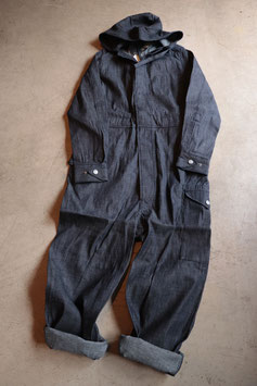 Nigel cabourn  / LYBRO foul weather coveralls デニムオールインワン