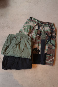 ANACHRONORM/アナクロノーム RESHAPE SHORTS NM-MIL05-RE