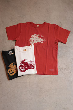 TROPHY CLOTHING/トロフィークロージング  OLD RACER OD CREW TEE TR18SS-209