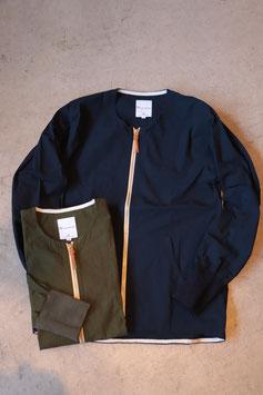 Re made in tokyo japan Cotton Nylon Crew Cardigan 3217S-CT