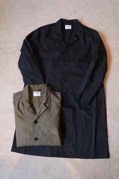 H.UNIT/エイチユニット Broadcloth long atelier coat. H-CT002