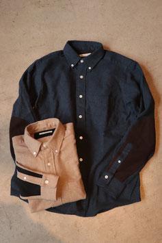 San Francisco/サンフランシスコ トップフランネル スウェードエルボーパッチシャツ 700071647