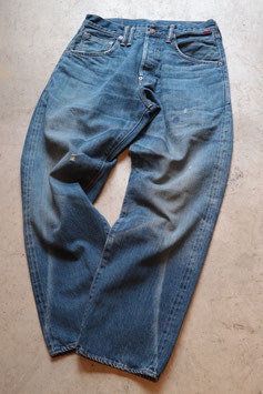 ANACHRONORM/アナクロノーム WASHED DENIM WIDE JEANS NM-5P01-W1