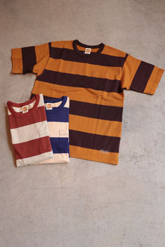 TROPHY CLOTHING/トロフィークロージング WIDE BORDER TEE TR18SS-203